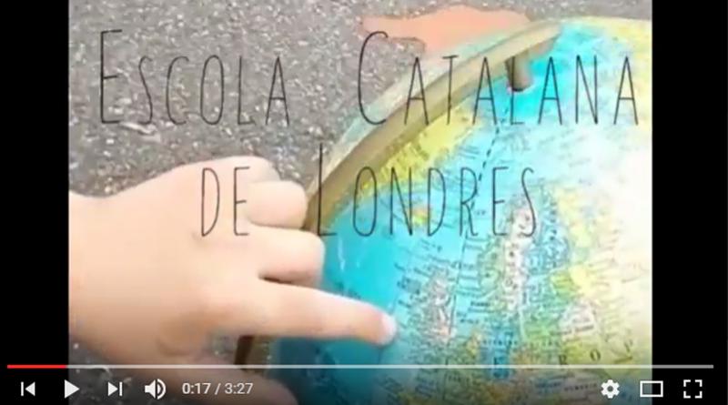 El Correllengua 2017 arriba a l'exterior amb la participació de l'Escola Catalana de Londres