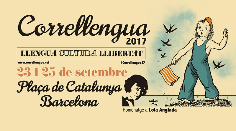 El Correllengua farà estada a la plaça de Catalunya de Barcelona