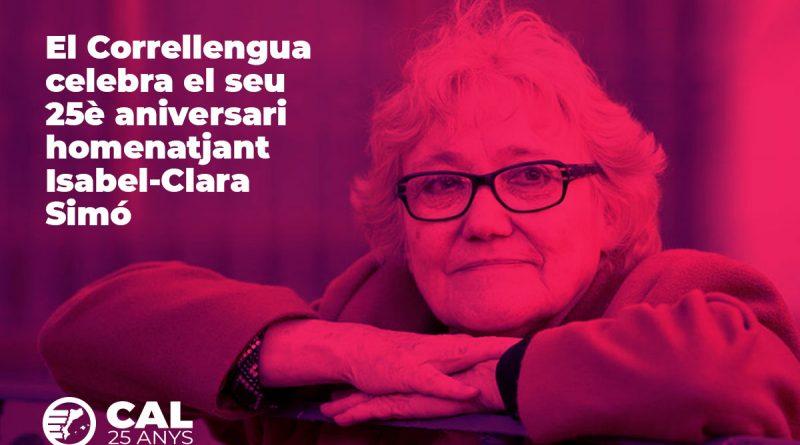 El Correllengua celebra el seu 25è aniversari homenatjant Isabel-Clara Simó
